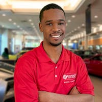 Trevon Hubbard at Bourne's Auto Center