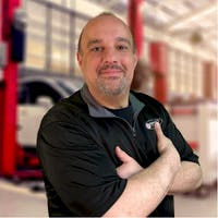 Mark Aufiero at Bourne's Auto Center