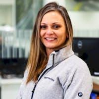 Melissa Gibson at Otto's BMW