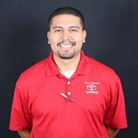 Eros Rivas at Dave Edwards Toyota - Service Center