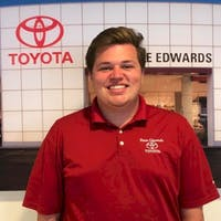 Jared Back at Dave Edwards Toyota