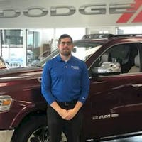 Benjamin Stevens at Crown Dodge of Fayetteville