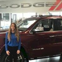 Megan Lefort at Crown Dodge of Fayetteville