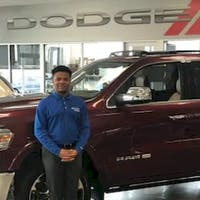 Dacius Smith at Crown Dodge of Fayetteville
