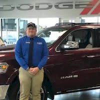 Aaron Williamson at Crown Dodge of Fayetteville