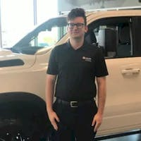 Cory Clark at Crown Dodge of Fayetteville