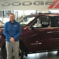 Jonathan Gibson at Crown Dodge of Fayetteville