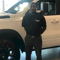 Damiyon Griffin at Crown Dodge of Fayetteville