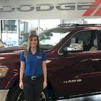 Leah Golden at Crown Dodge of Fayetteville