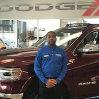 Rory Tripp at Crown Dodge of Fayetteville