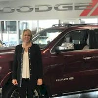 Robyn McLamb at Crown Dodge of Fayetteville