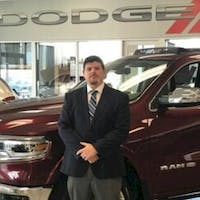 Stephen Sergent at Crown Dodge of Fayetteville