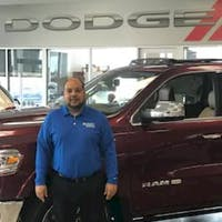 Nelson Amaro at Crown Dodge of Fayetteville