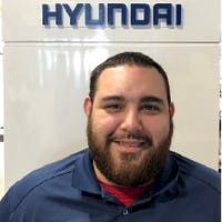 Laz Rodriguez Jr at Potamkin Hyundai