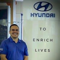 Jonathan Gutierrez at Larry H. Miller Hyundai Peoria
