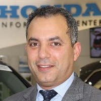 Haitham Elkholi at Paragon Honda