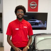 Robert Domond at Fuccillo Nissan of Clearwater