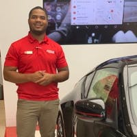 SaQuan Franklin-Scott at Fuccillo Nissan of Clearwater