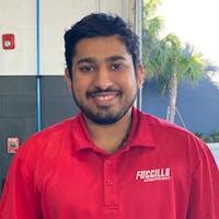 Jithin  Joseph at Fuccillo Nissan of Clearwater - Service Center