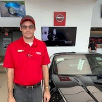 Justin Thayer at Fuccillo Nissan of Clearwater