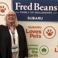 Gail Brown at Fred Beans Subaru