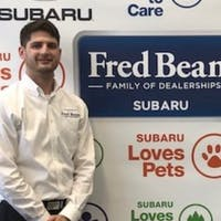 Matthew  Ivers Merritt at Fred Beans Subaru