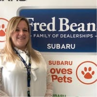 Allison Reynolds at Fred Beans Subaru