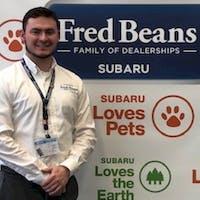 Ron Dolan at Fred Beans Subaru