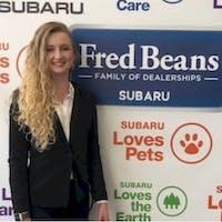 Katrina  Przbylowski at Fred Beans Subaru