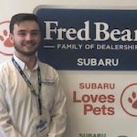 Christian Ozzimo at Fred Beans Subaru