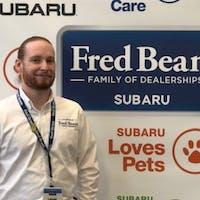 Logan Hamer at Fred Beans Subaru
