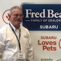 Mark  Susten at Fred Beans Subaru