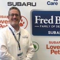 Steve Herbut at Fred Beans Subaru