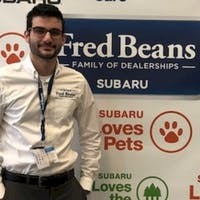 Bryan  Uricchio at Fred Beans Subaru