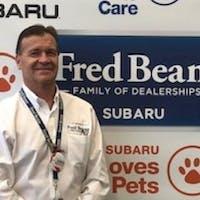 Todd  Mock at Fred Beans Subaru
