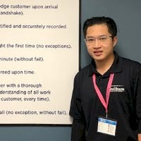 Minh Luong at Fred Beans Subaru