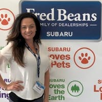 Crystal Connor at Fred Beans Subaru