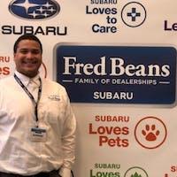 Anthony Duckett at Fred Beans Subaru
