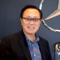 David Wang at Fletcher Jones Motorcars of Fremont