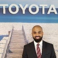 Joel Tejada at Ed Morse Delray Toyota