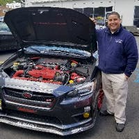 Jonathan  Velez at Hudson Subaru