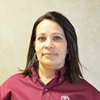 Elga Matos at Toyota of Tampa Bay - Service Center