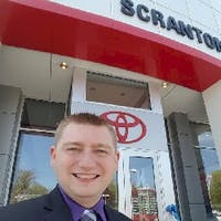 AJ Wallace at Toyota of Scranton