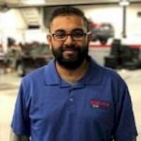 Rick Parbhunath at Executive Kia - Service Center