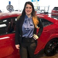 Courtney  DeMello at Colonial Honda of Dartmouth