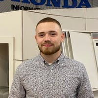 Collin Silva at Colonial Honda of Dartmouth