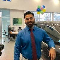 Waleed Shah at Colonial Honda of Dartmouth