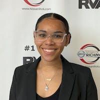 Samiah Ortiz at Nissan of Richmond