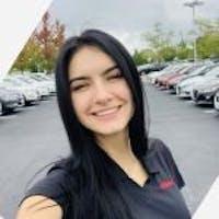Iryna Kilyk at Arlington Nissan