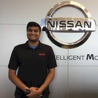 Antim Patel at Arlington Nissan - Service Center
